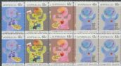 AUS SG1237-40 Community Health set of 4 blocks of 4